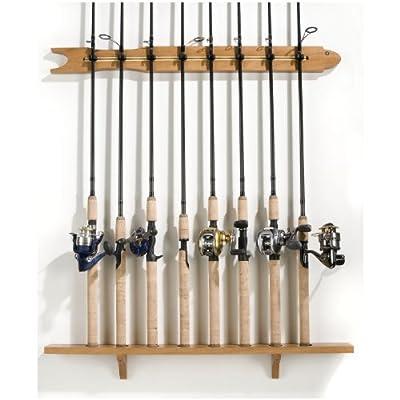 Organized Fishing 8 - Rod Modular Wall Rod Rack by ORGANIZED FISHING