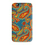 Garmor Ethnic Design Plastic Back Cover For Micromax Canvas Turbo A250 (Ethnic 2)