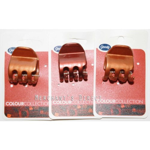 Goody Colour Collection Half Claw, For Red Heads , 3 Pack