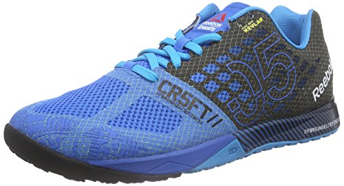 Reebok - R Crossfit Nano 5.0, Scarpe Da Ginnastica da uomo, Multicolore (Mehrfarbig (Cycle Blue/Black/Far Out Blue)), EU 42.5