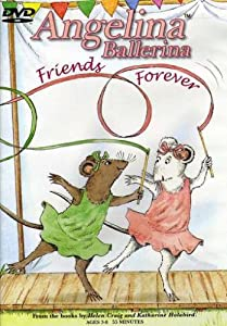 Angelina Ballerina-Show Must Go on/Friends Forever 2pk