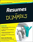 img - for By Kennedy Resumes For Dummies (6th Sixth Edition) [Paperback] book / textbook / text book