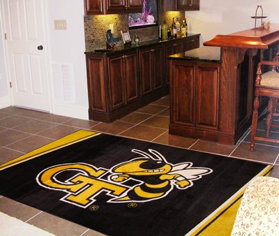 Georgia Tech 4' x 6' Area Rugs