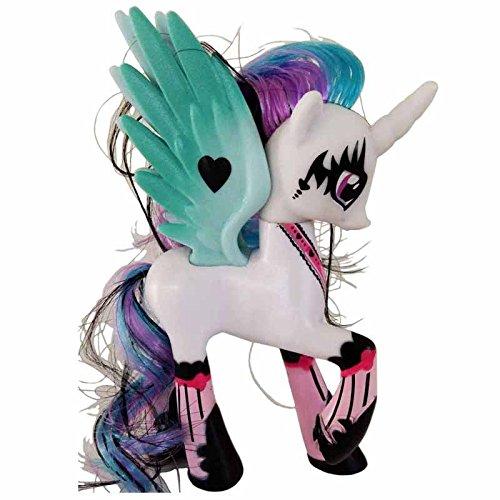 Princess Celestia My Little Pony Doll/Sun Princess Celestia My Little Pony Doll Funny Cake Toppers Doll Action Figure Toy Gift Present Size 14 cm. (Sky Blue (My Little Pony Equestria Girl Costume)
