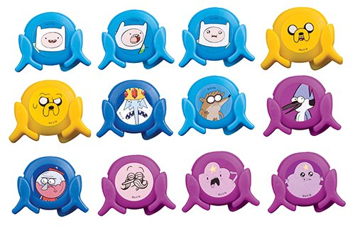 Adventure Time and the Regular Show Party Toys Pack of 10
