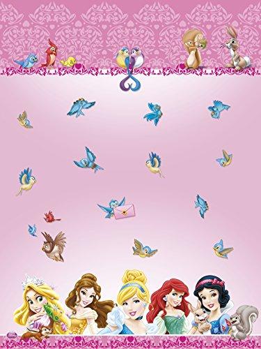 Kunststoff-Disney-Princess-und-Tiere-Tischdecke-18-m-x-12-m
