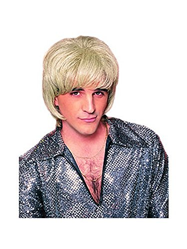 70s Shag Man Wig (blonde) Adult Halloween Costume Accessory