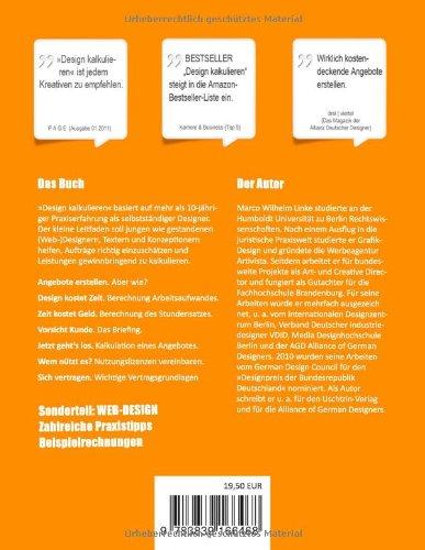 libro design kalkulieren stundensatz berechnen kosten kalkulieren nutzung vereinbaren. Black Bedroom Furniture Sets. Home Design Ideas