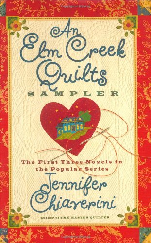 http://www.amazon.com/An-Elm-Creek-Quilts-Sampler/dp/074326018X/ref=sr_1_2?ie=UTF8&qid=1391900759&sr=8-2&keywords=elm+creek+quilt+series