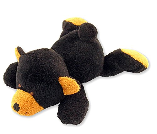 Puzzled Black Bear Plush Magnet