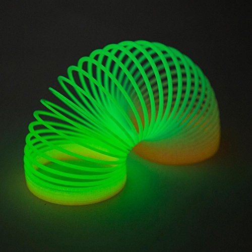 "3"" Glow In Dark Magic Spring (Compare To Slinky And SAVE) [Toy] - 1"