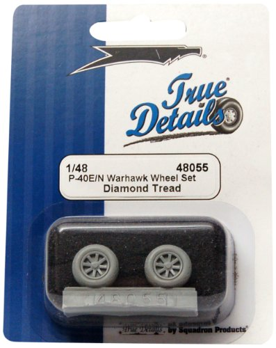 True Details P-40E/N Warhawk Wheel Set - 1