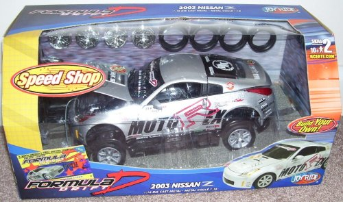 Buy Formula D 2003 Nissan Z 1:18 Diecast Metal Model Kit