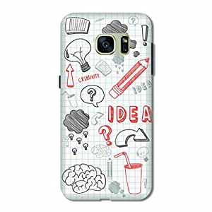 OVERSHADOW DESIGNER PRINTED BACK COVER FOR SAMSUNG S7