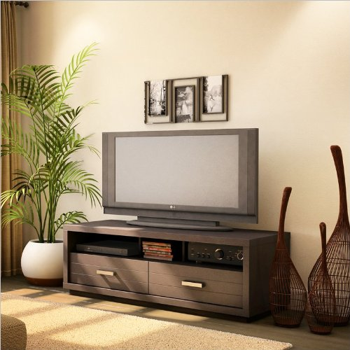 South Shore Furniture Skyline Collection TV Stand, Chocolate