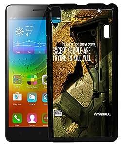 Toppings 2D Printed Designer Hard Back Case Cover For Lenovo A7000 -10236
