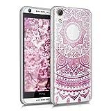 kwmobile Crystal Case Hülle für HTC Desire 626G aus TPU