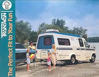 1990 Champion Transvan Motorhome Trailer RV Brochure at Amazon's