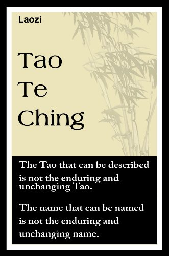 Laozi - Tao Te Ching (with linked TOC)
