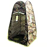 Portable Changing Tent Camping Shower Toilet Pop Up Room Privacy Shelter w/ Bag - Camouflage