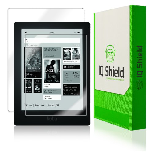 Iq Shield Liquidskin - Kobo Aura Hd E-Reader Screen Protector + Full Body (Front And Back) With Lifetime Replacement Warranty - High Definition (Hd) Ultra Clear Tablet Smart Film - Premium Protective Screen Guard - Extremely Smooth / Self-Healing / Bubble front-830717