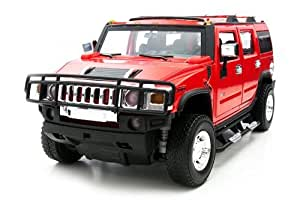 1/24 metal drive RC Hummer H2 Red (japan import)