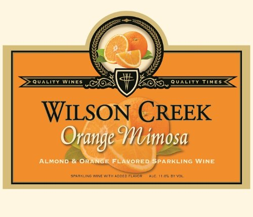 Wilson Creek NV  Orange Mimosa Sparkling 750 mL