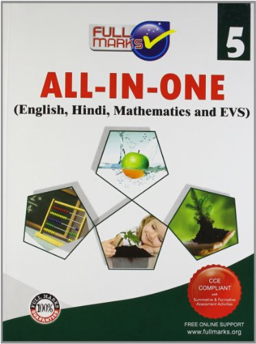 All-In-One (English,Hindi,Mathematics and EVS) Class 5