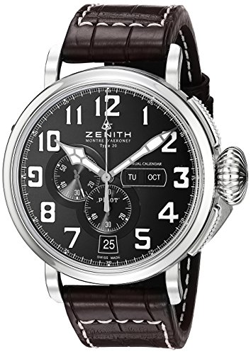 Zenith-Mens-032430405421C-Pilot-Analog-Display-Swiss-Automatic-Brown-Watch