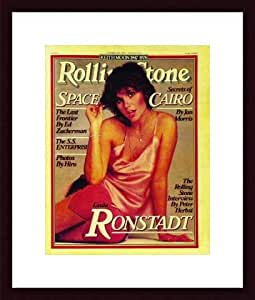 Rolling Stone Cover of Linda Ronstadt / Rolling Stone Magazine Vol. 276, October 19, 1978, Art Print by Francesco Scavullo