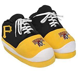 MLB Pittsburgh Pirates 2011 Mens Sneaker Slipper Small by Forever Collectibles