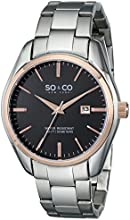 SO & CO New York  Men's 5101.5 Madison Stainless Steel Watch