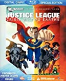 51ZE5Ajf HL. SL160  Justice League: Crisis on Two Earths (Special Edition Blu ray with Owlman Bonus Figure)