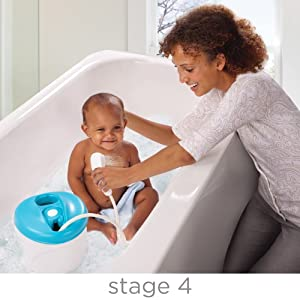 Summer Infant Newborn-to-Toddler Bath and Shower Tub