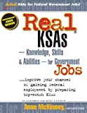 img - for Real KSAs -- Knowledge, Skills & Abilities -- for Government Jobs book / textbook / text book