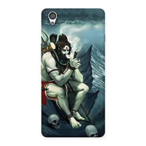 Gorgeous Shiva Multicolor Back Case Cover for OnePlus X