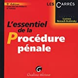 echange, troc Corinne Renault-Brahinsky - L'essentiel de la procédure pénale