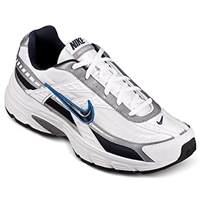 Nike Mens Initiator White Cobalt Blue Running Shoes (9.5 M)