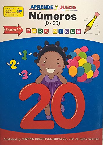 Numbers / Numeros. Aprende español / Learn Spanish - Libro de actividades para niños / Activities for kids - 1