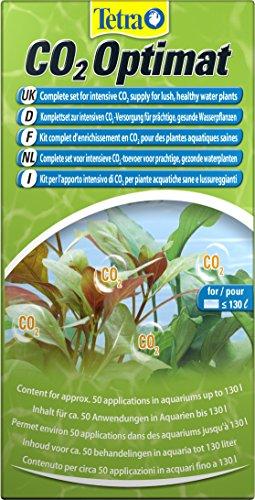 CO2-Optimat (Komplettset zur Anreicherung des Aquariumwassers mit Kohlendioxid für prächtige Wasserpflanzen, mit Diffusionsrohr, Schlauch und Saugnäpfen)