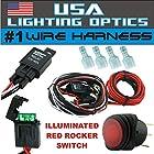 #1 40 Amp Universal Wiring Harness for Off Road LED Light Bars Relay ON/OFF Switch and LED Work Light Lamps ATV, UTV, Truck, SUV, Polaris Razor RZR, Yamaha, Ranger