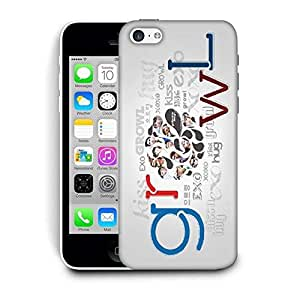Snoogg Growl Designer Protective Back Case Cover For IPHONE 5C