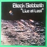 BLACK SABBATH Live At Last LP Vinyl & Cover VG++ NEMS BS 001 1985 Germany