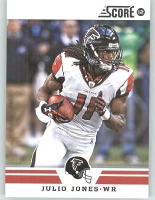 2012 Score Football Card #45 Julio Jones - Atlanta Falcons (NFL Trading Card)