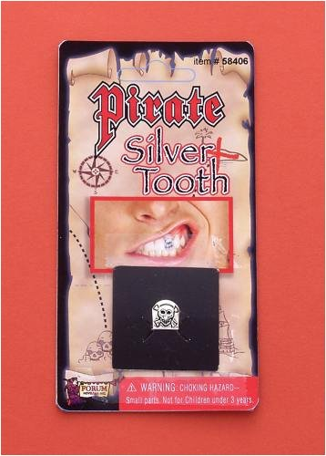 Forum Novelties Silver Pirate Costume Tooth