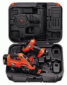 Black & Decker CSD144K-2 Firestorm 14.4-Volt Drill/Saw Cordless Combo Pack