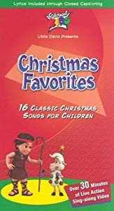 Christmas Favorites Vhs from Cedarmont Kids