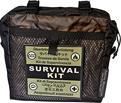 Survival Metrics Pro Survival Kit Pouch, Black PSKP-T