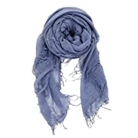 Chan Luu Cashmere and Silk Scarf in Cloud Grey