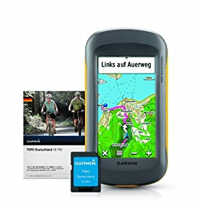 Garmin GPS Gerät Montana 600 und Topo Deutschland V6 Pro Bundle Microsd, 020-00176-02